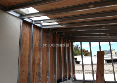 Dormitorio - Steel framing